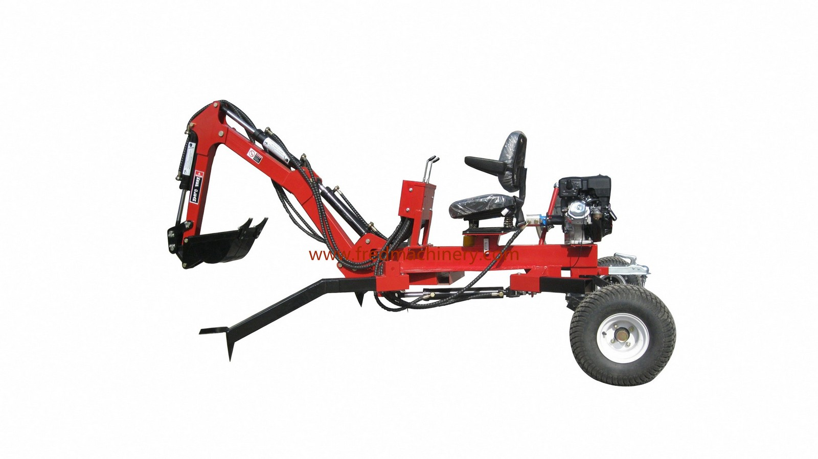 ATV Backhoe Digger